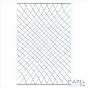 Fullcover Stickdatei Grid Muckiju Design